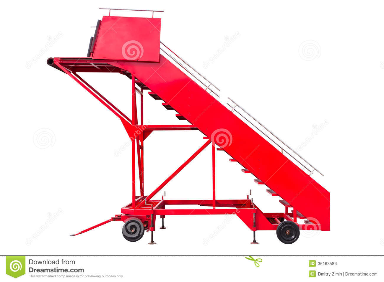 Boarding Ramp Stock Images.