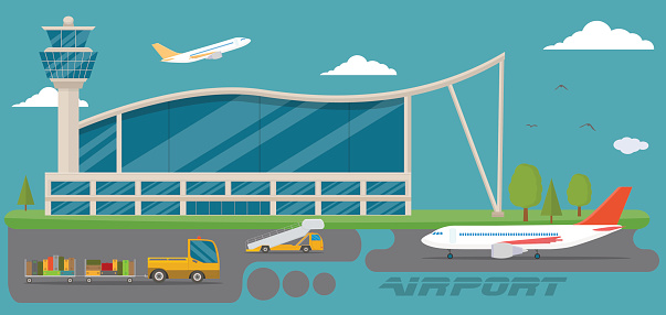 Boarding Stairs Clip Art, Vector Images & Illustrations.
