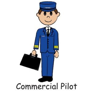 Pilot Clipart Image.
