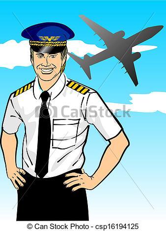 Pilot Hat Clipart.