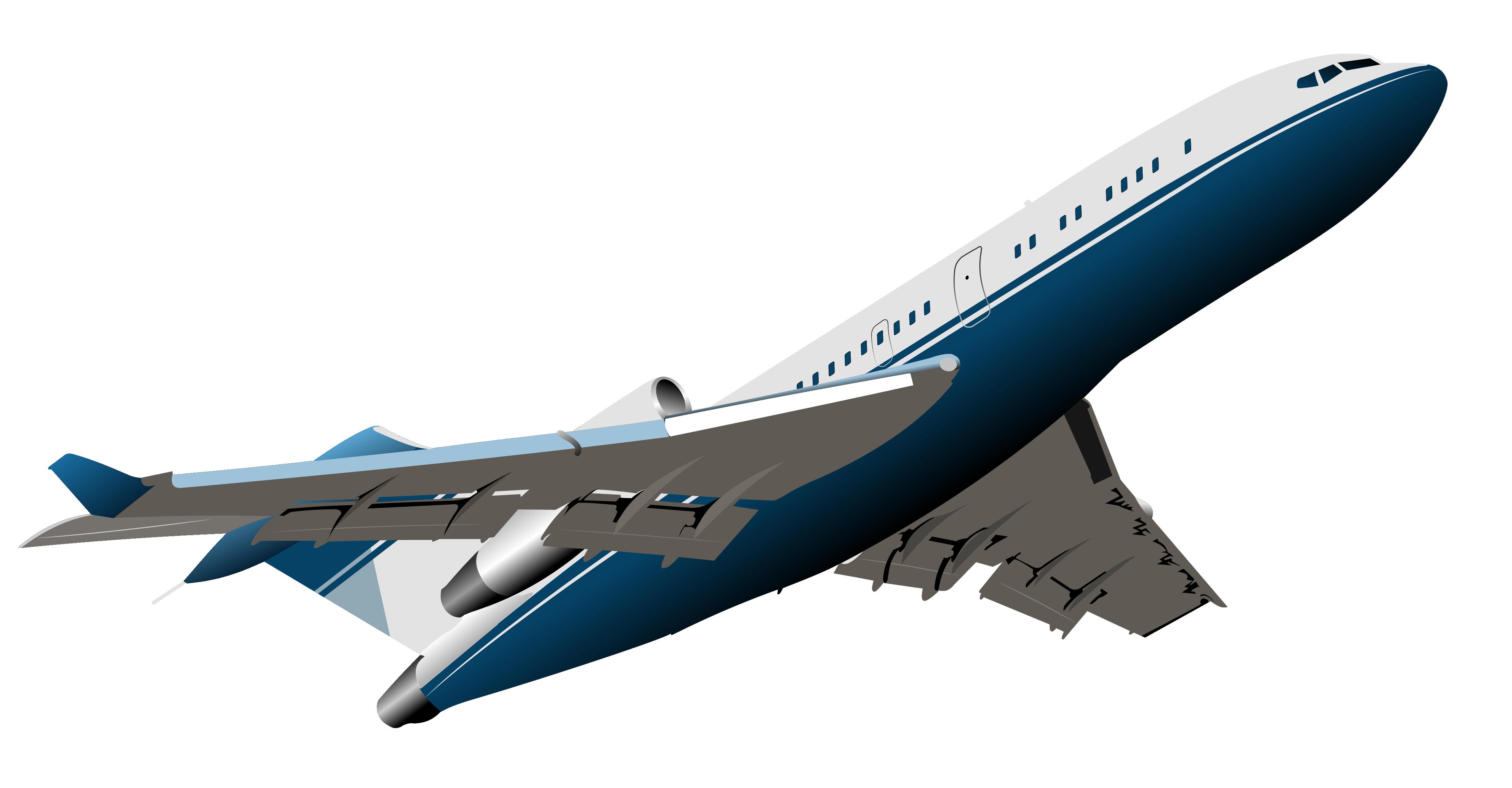 Aircraft PNG Vector Clipart.
