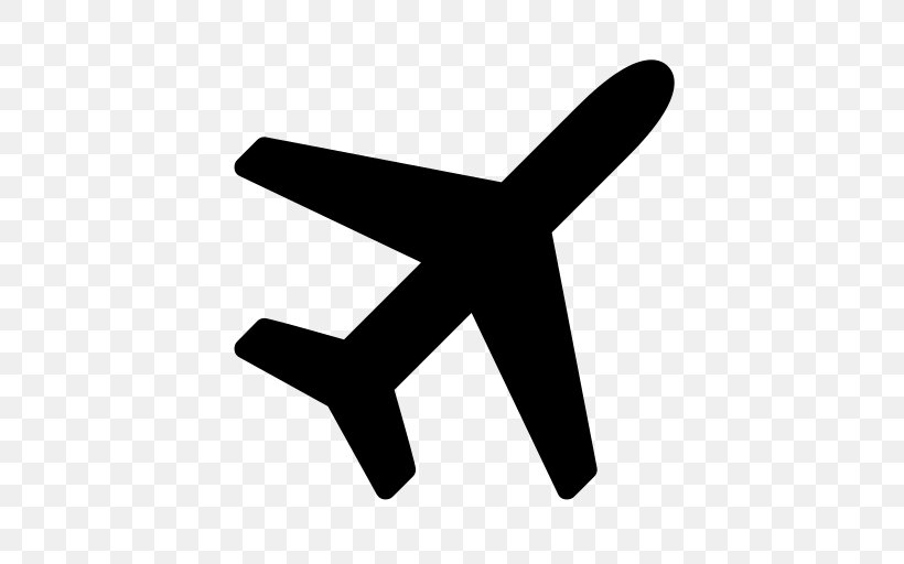 Airplane Font Awesome Clip Art, PNG, 512x512px, Airplane.