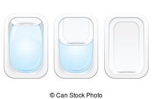 Airplane window clipart #4
