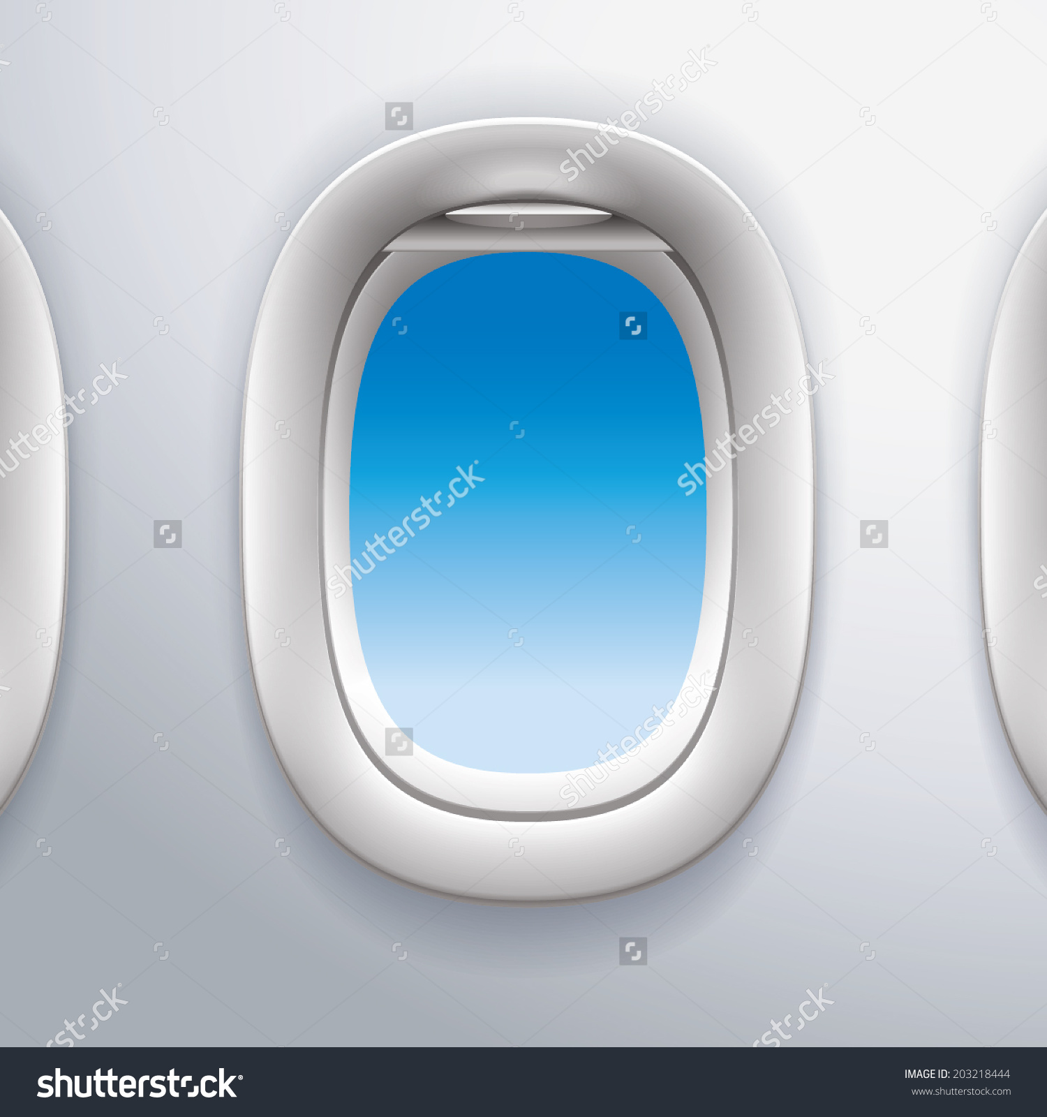 Airplane window clipart.