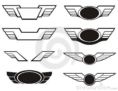 Aircraft Emblem Stock Photos.