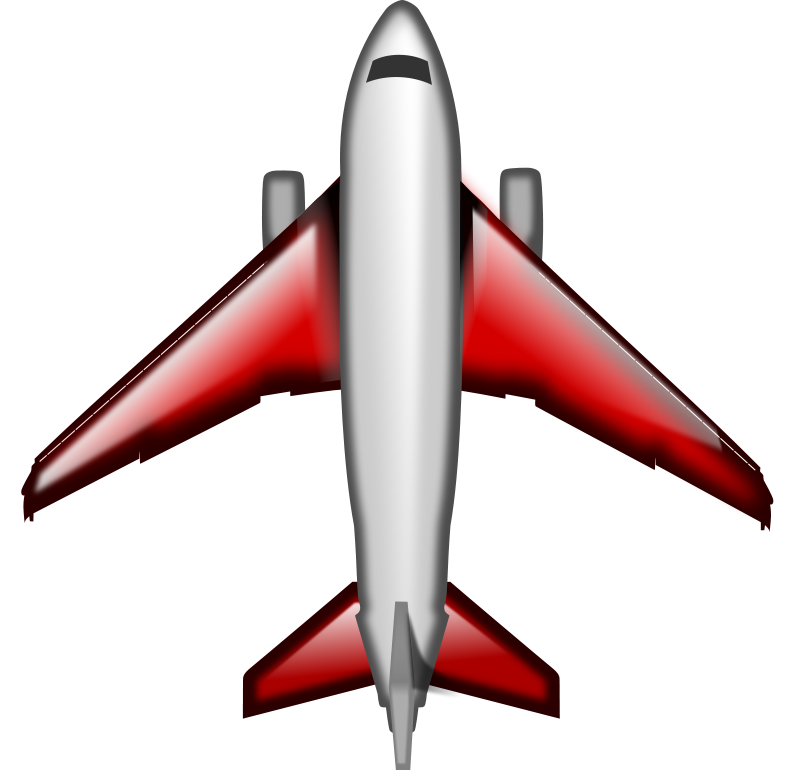 Plane Wings Clipart.