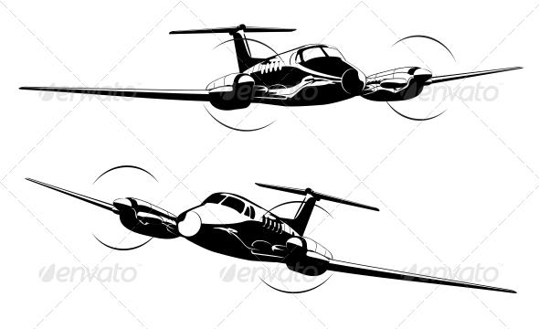 Civil Utility Aircraft by Mechanik.