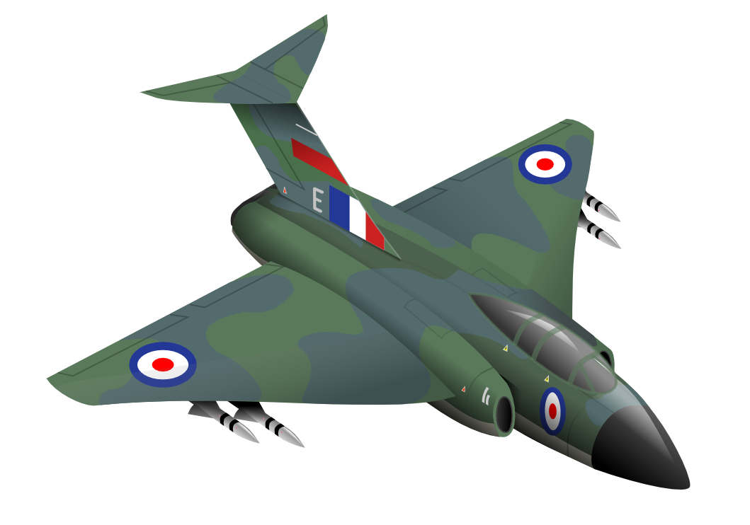 Clipart fighter aircraft.