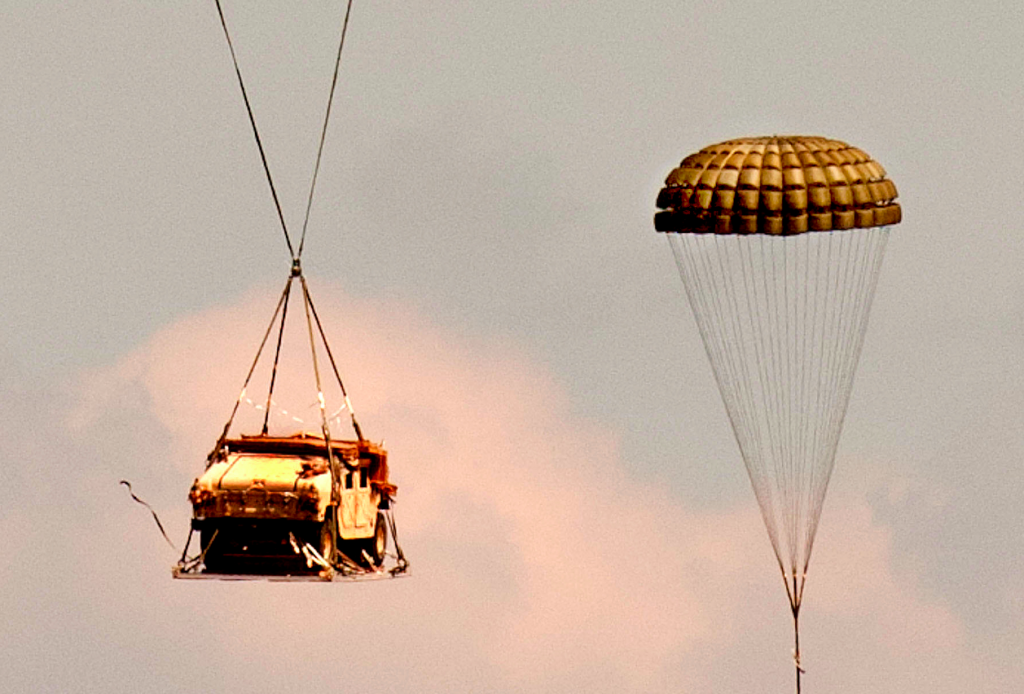 See Army Humvees Fall to Destruction in Botched AirdropThe SITREP.