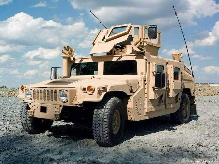 Double Armored Humvee.