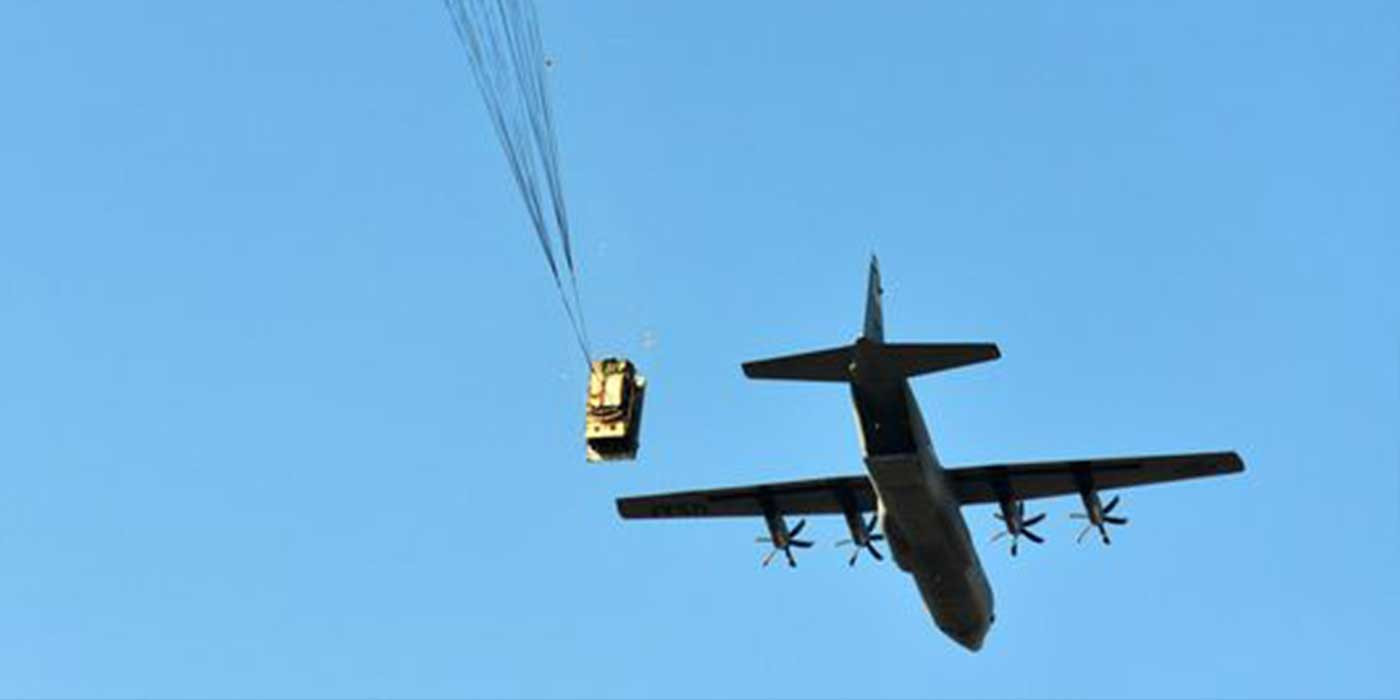 VIDEO: Army Humvee Airdrop Goes Horribly Wrong.