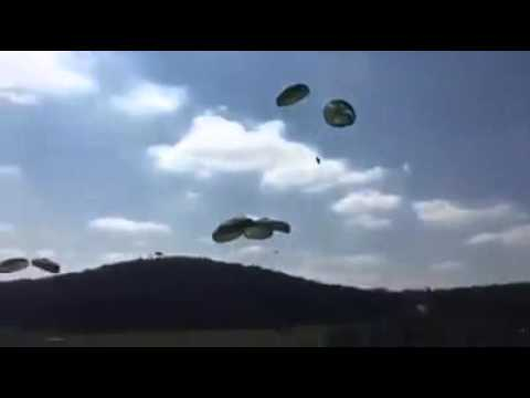 Humvees failed airdrop.