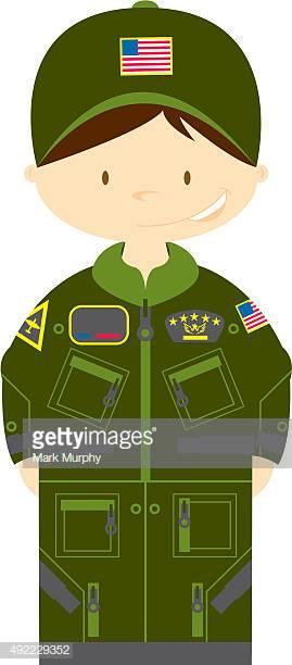 50 Us Air Force Uniform Stock Illustrations, Clip art, Cartoons.