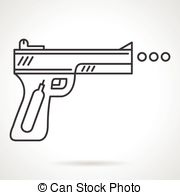 Airgun Clip Art Vector and Illustration. 9 Airgun clipart vector.