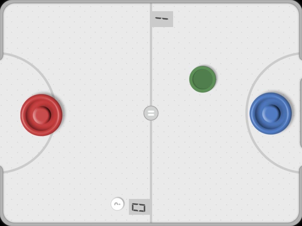 Super Hockey: kostenloses Air Hockey Spiel für das iPad.