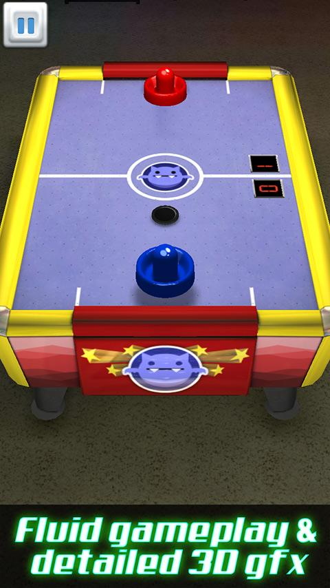 Air Hockey 3D.