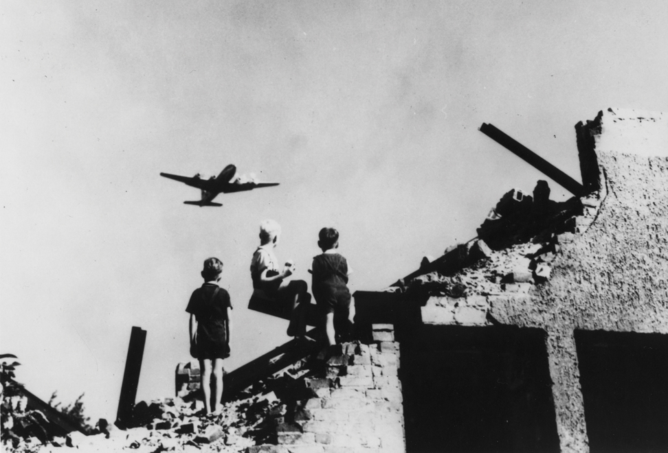 Berlin Wall and Berlin Airlift.