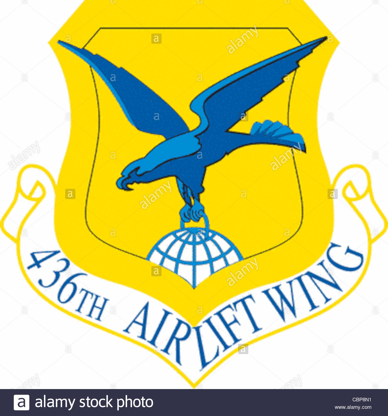 436th Airlift Wing Clip Art Stock Photo, Royalty Free Image.