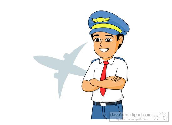 Pilot Clipart Images.