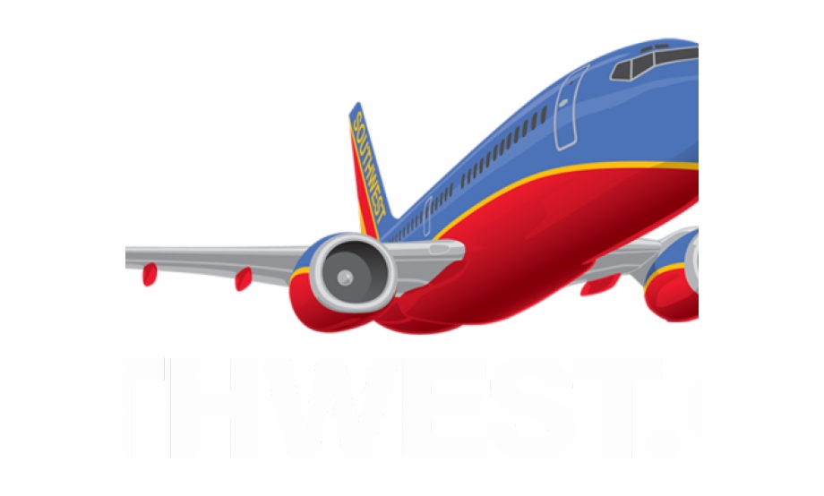 Plane Clipart Logo Southwest Airlines Logo Png.