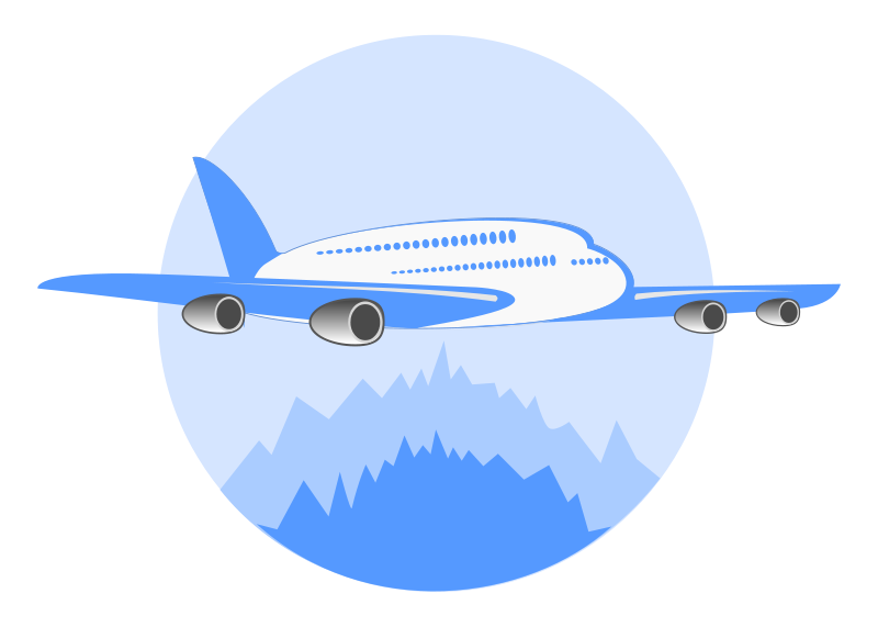 Free Clipart: Airline Logo.