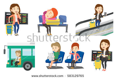 Collection of Airline clipart.