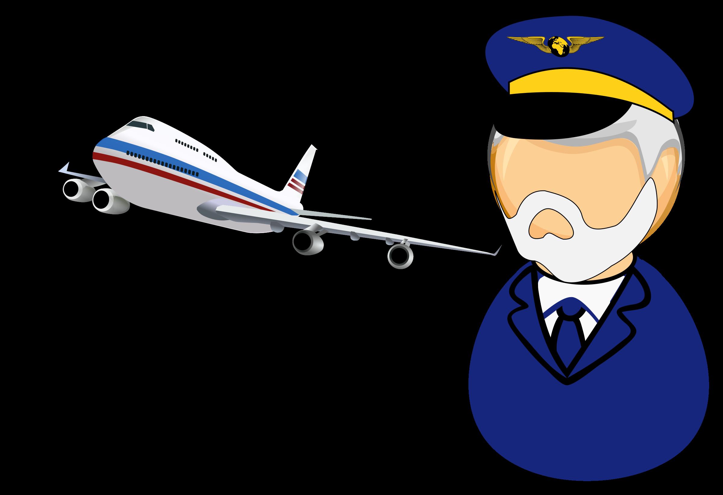 Pilot clipart airline pilot, Pilot airline pilot Transparent.