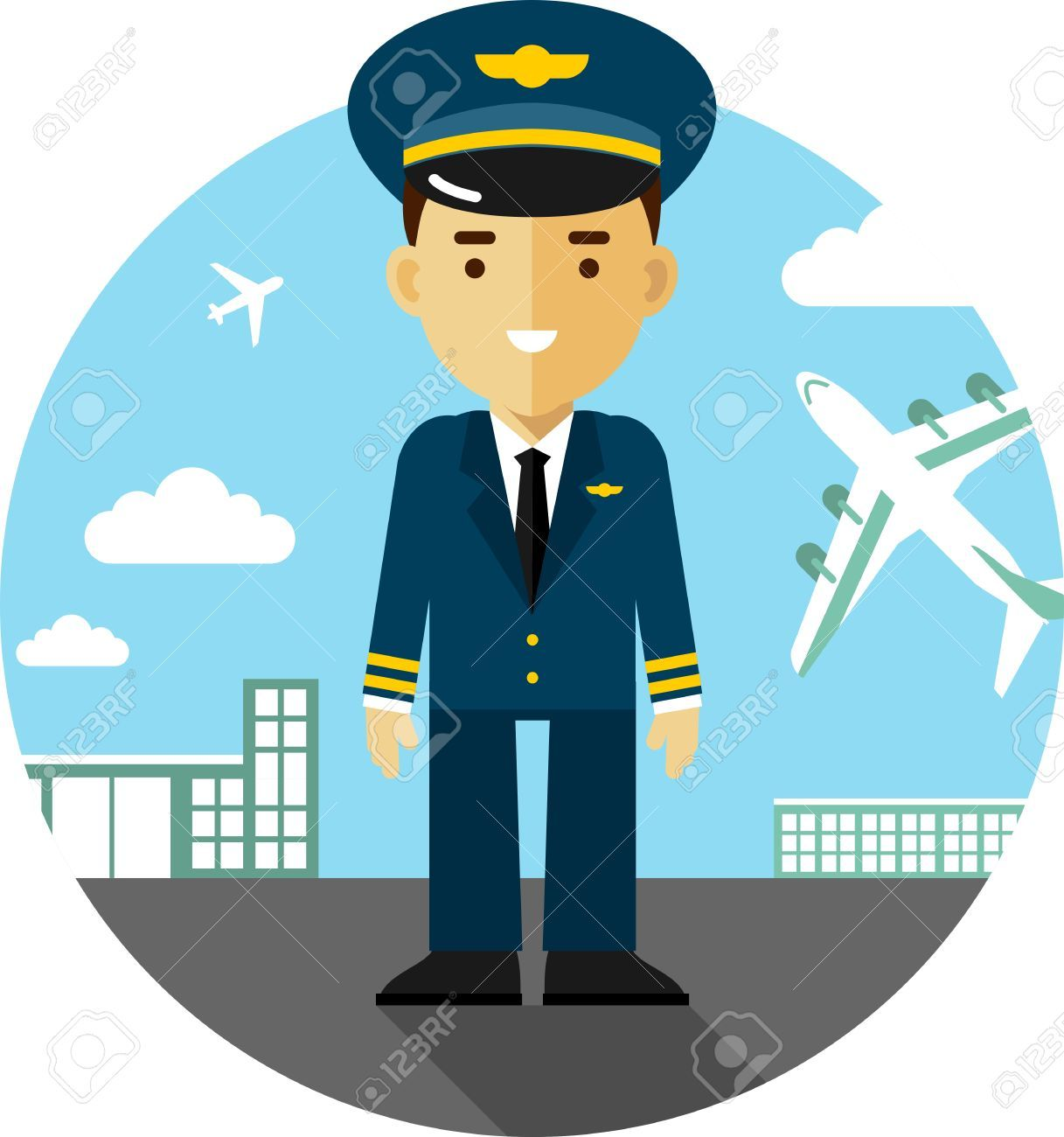 Image result for pilot clipart.
