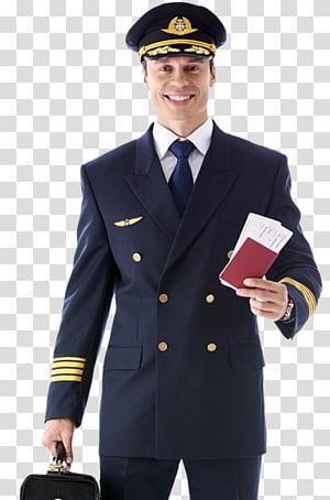 Airline Pilot Uniforms transparent background PNG cliparts.