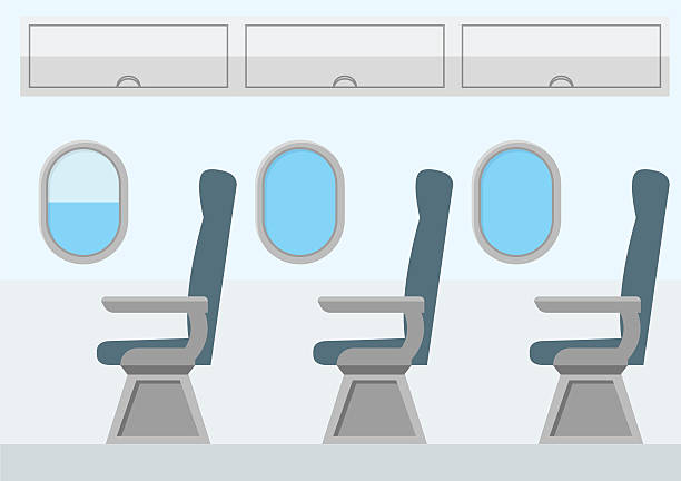 Airplane Seat Clipart.
