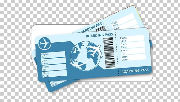 Flight Airplane Air Travel Airline Ticket Boarding Pass PNG.