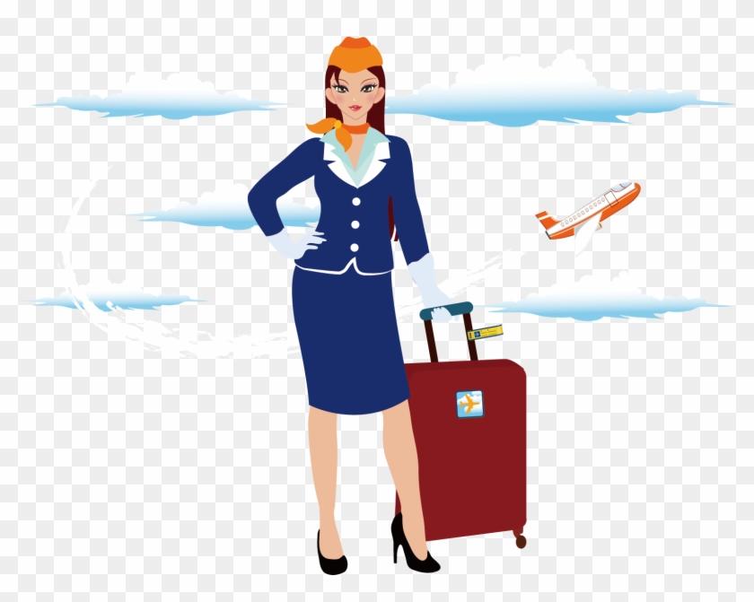 Stewardess Png.