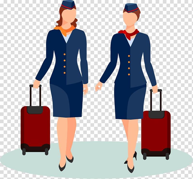 Flight attendant Portable Network Graphics Encapsulated.