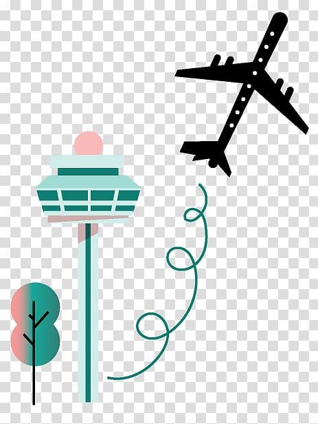 Changi Airport MRT station Airport terminal Airplane.