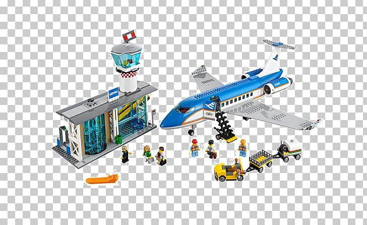 Airplane LEGO 60104 City Airport Passenger Terminal Lego.
