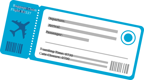 Plane Ticket Png & Free Plane Ticket.png Transparent Images #10775.