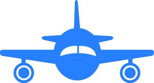 Clip Art Airplane Travel Clipart.