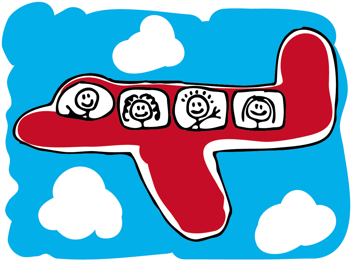 Europe Airplane Clipart.