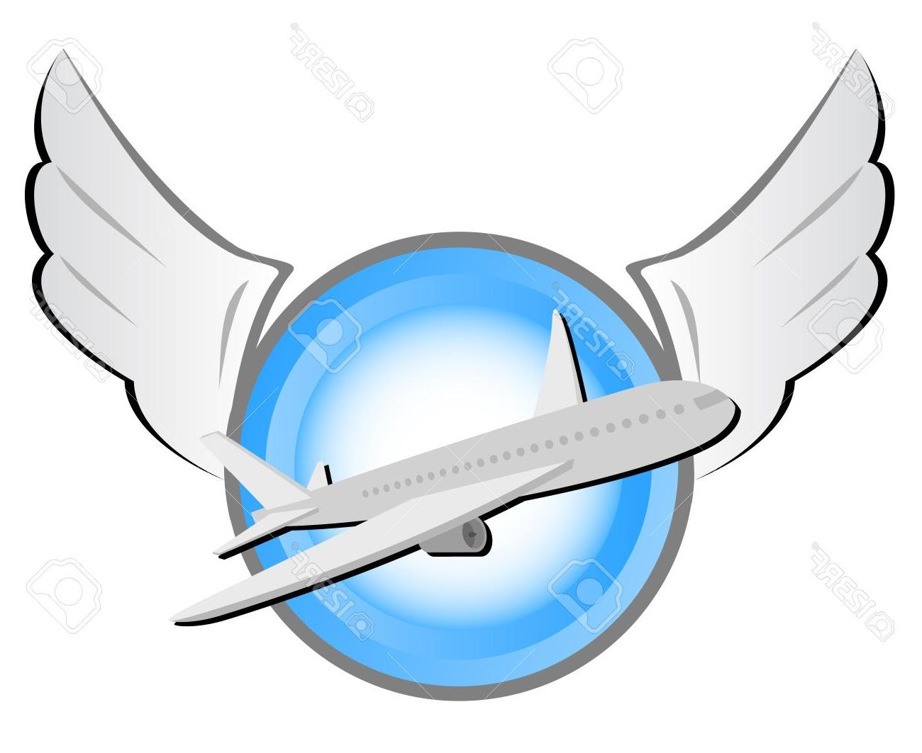 Best Airline Pilot Wings Clip Art Library ~ Vector Images Design.