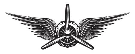 9,464 Pilot Wings Stock Illustrations, Cliparts And Royalty Free.