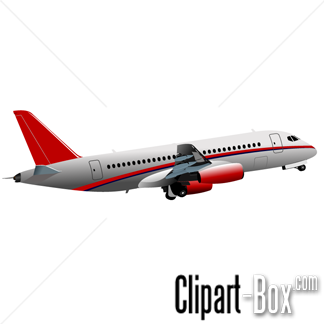 CLIPART AIRLINER.