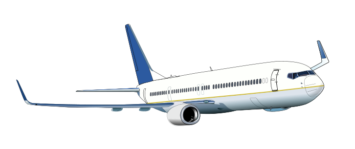Free to Use & Public Domain Airliner Clip Art.