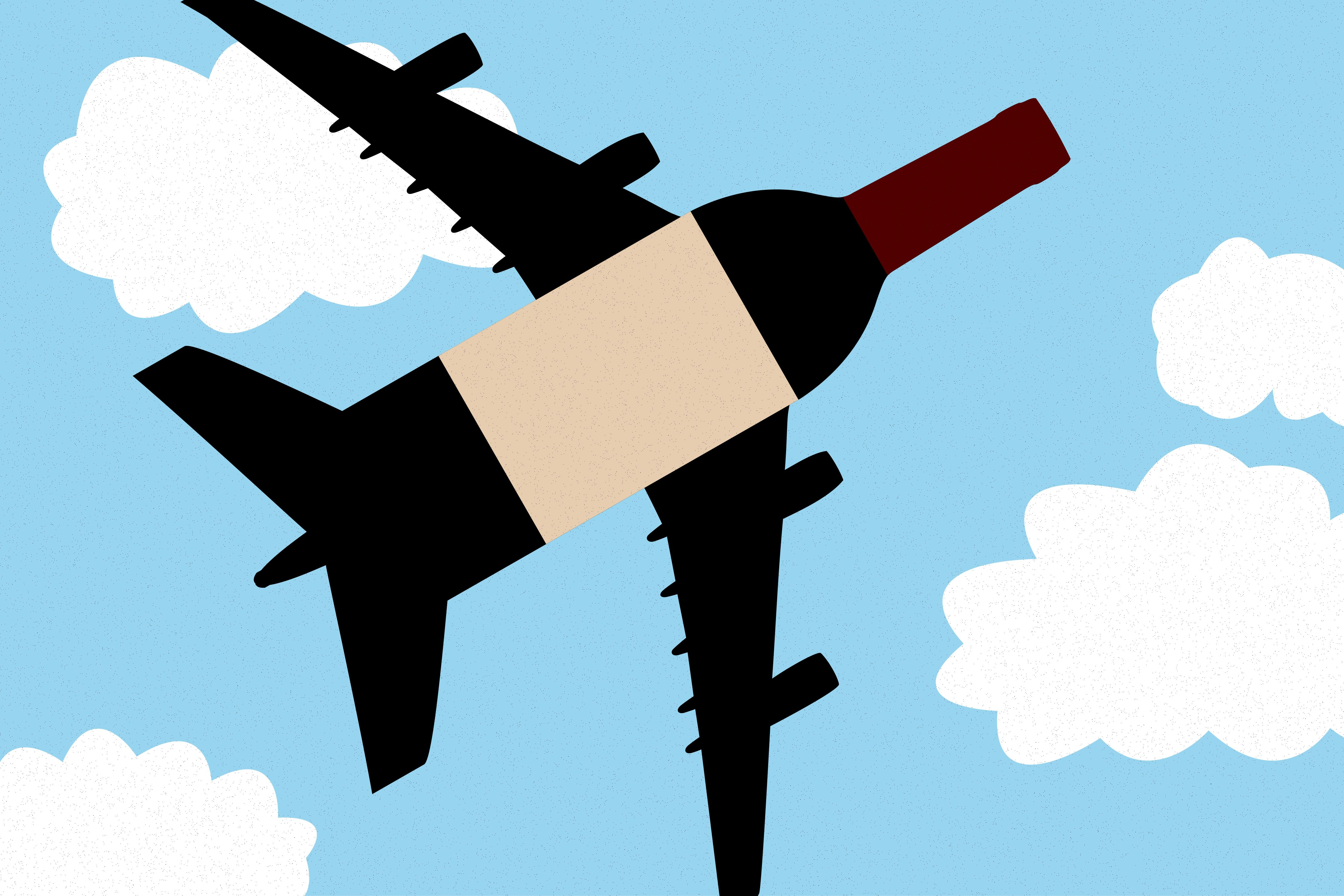 Airline Sommeliers Offer High.