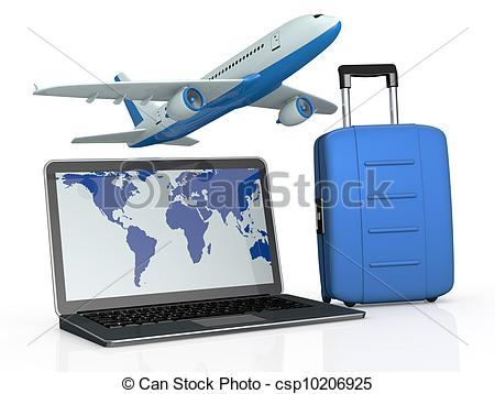 online travel booking.