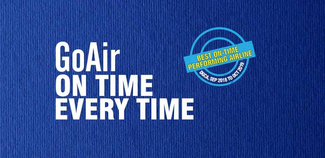 Lowest Domestic Airfare at GoAir.