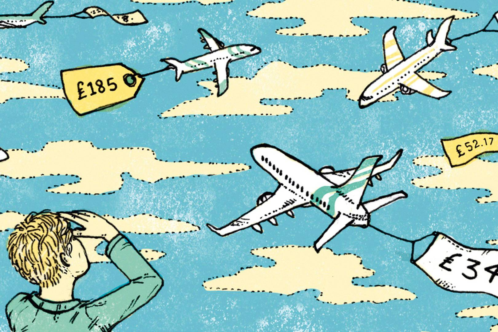 How to find cheaper air fares online.
