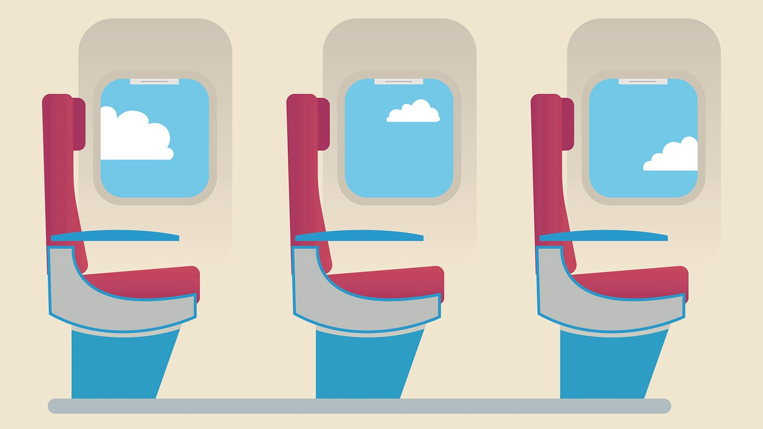 Airlines seeing record numbers of passengers but fewer.