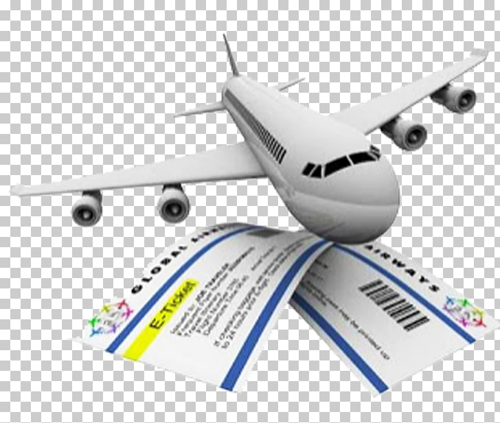 Flight Airline ticket Travel, air tickets PNG clipart.
