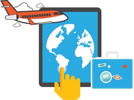 Airlines online booking download free clipart with a.
