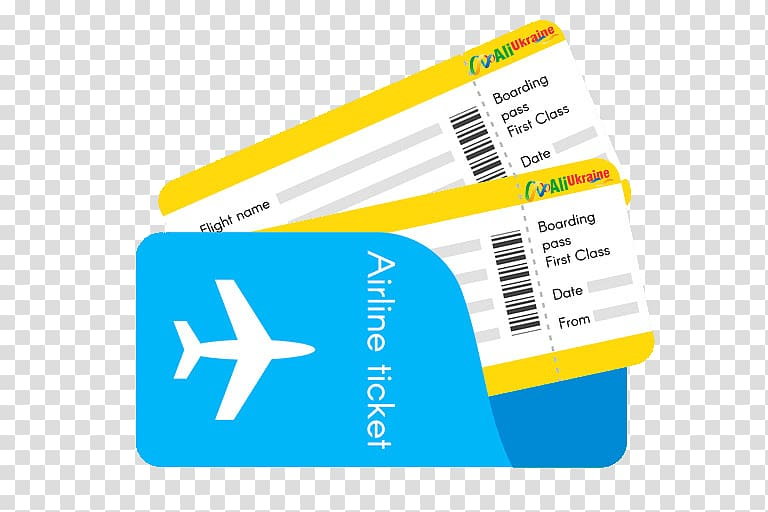 Flight Airplane Air travel Airline ticket, airplane.